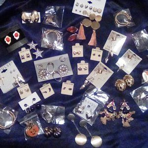 Bulk Earring lot #14